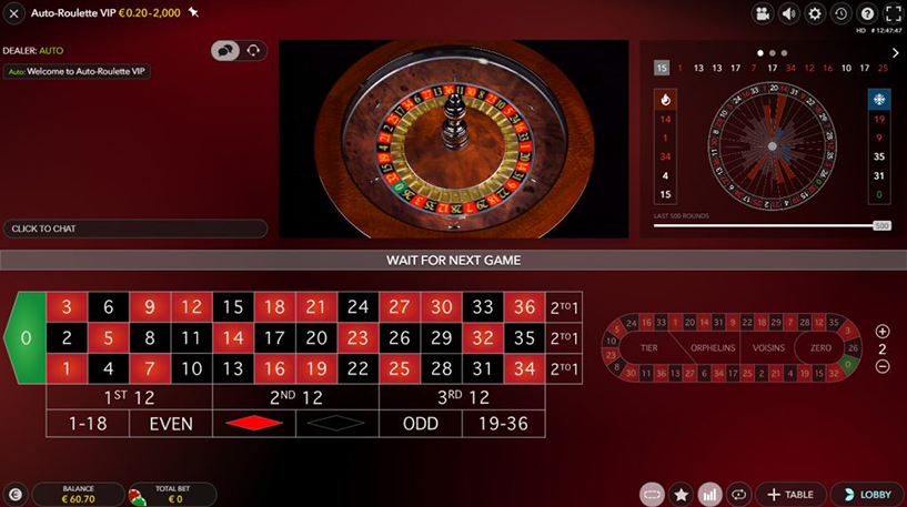 Slingshot Auto Roulette Screenshot 2