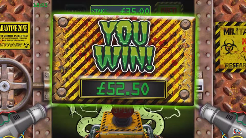 Slots of the Dead Slot Screenshot 3
