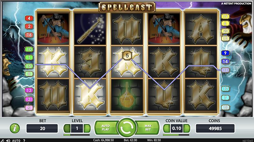 SpellCast Slot Screenshot 1