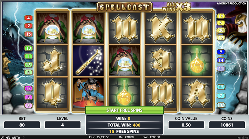 SpellCast Slot Screenshot 3