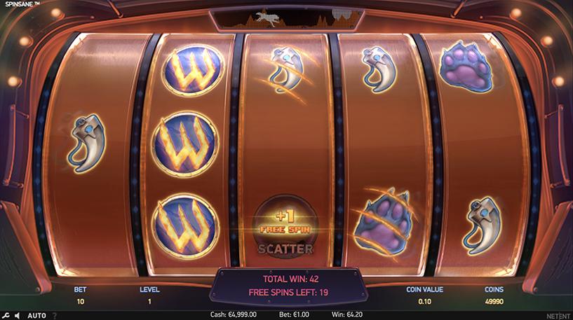 Spinsane Slot Screenshot 1