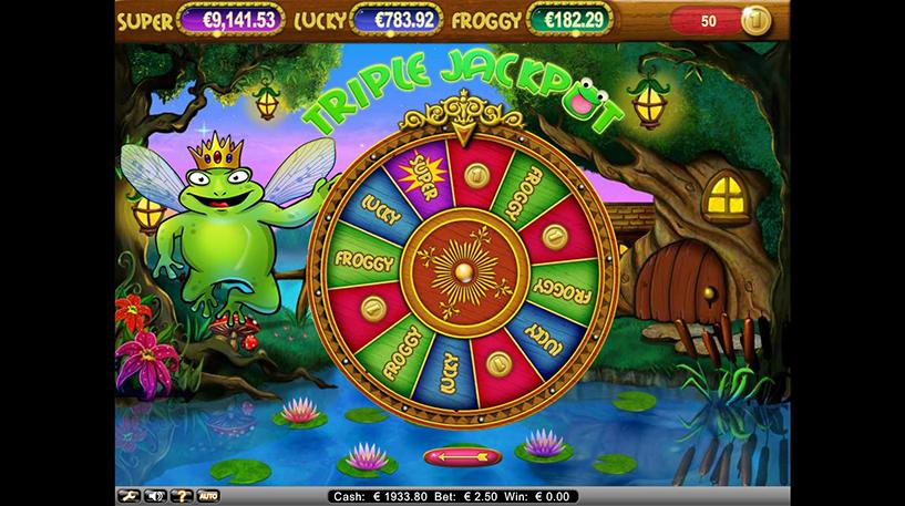 Super Lucky Frog Slot Screenshot 3