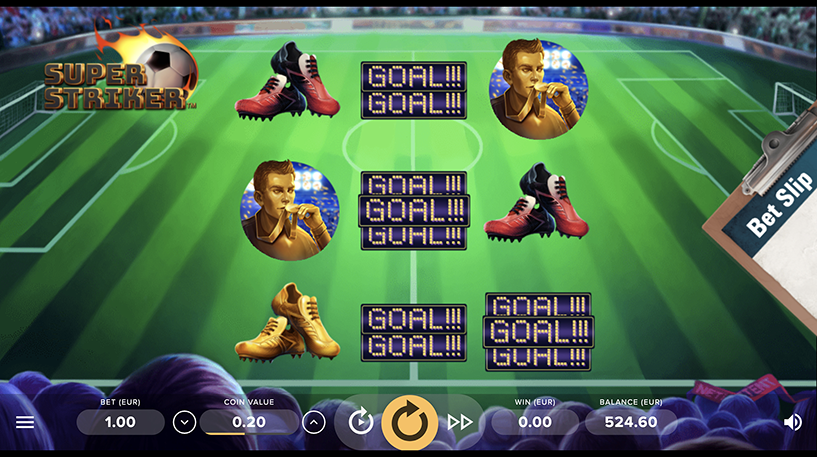 Super Striker Slot Screenshot 1
