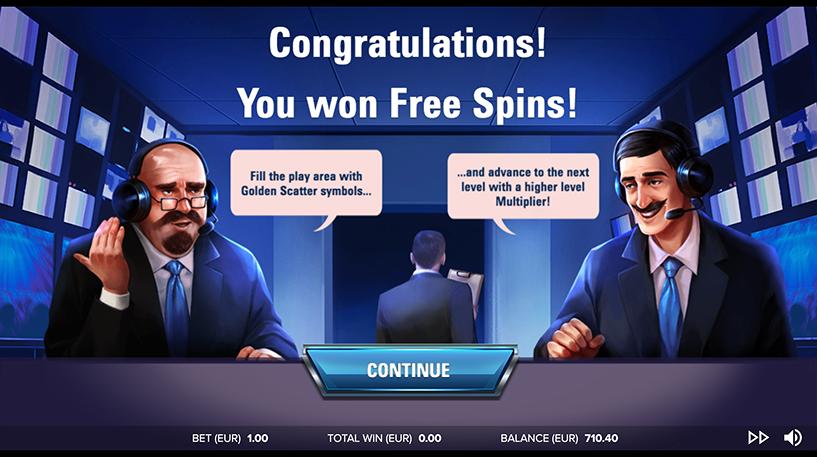 Super Striker Slot Screenshot 2