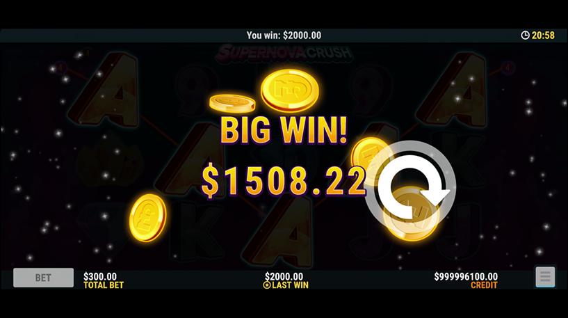 Supernova Crush Slot Screenshot 2