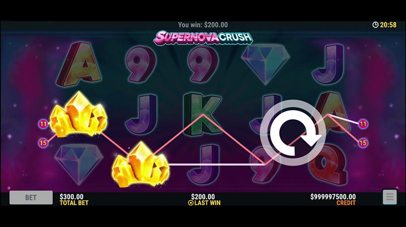 Supernova Crush Slot Screenshot 3
