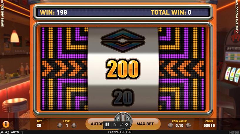 Swipe & Roll Slot Screenshot 1