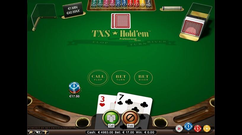Texas Hold'Em Professional Series Screenshot 3