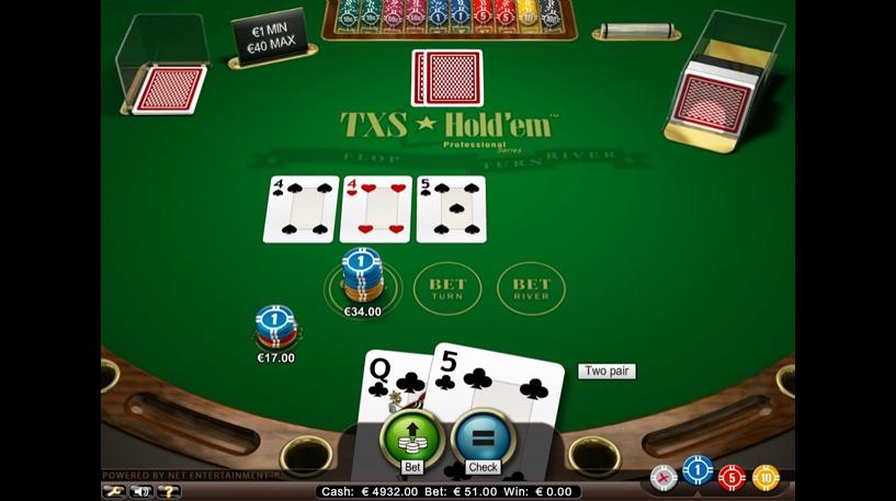 Texas Hold'Em Professional Series Screenshot 2
