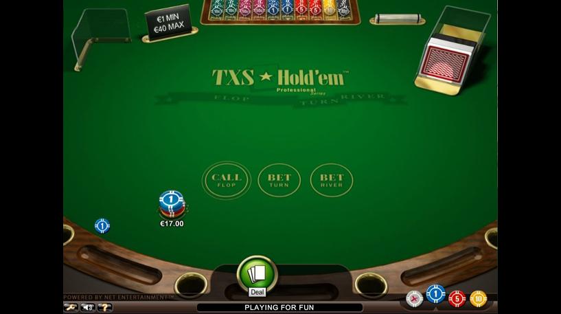 Texas Hold'Em Professional Series Screenshot 1