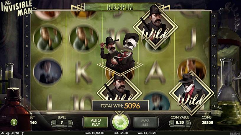 The Invisible Man Slot Screenshot 3
