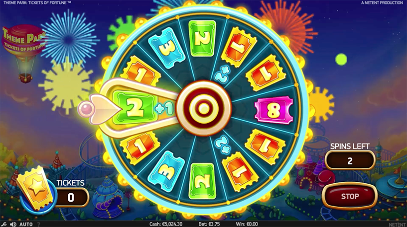 Theme Park Tickets of Fortune Screenshot 1