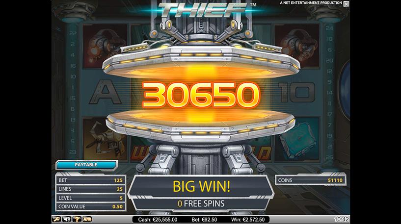 Thief Slot Screenshot 2