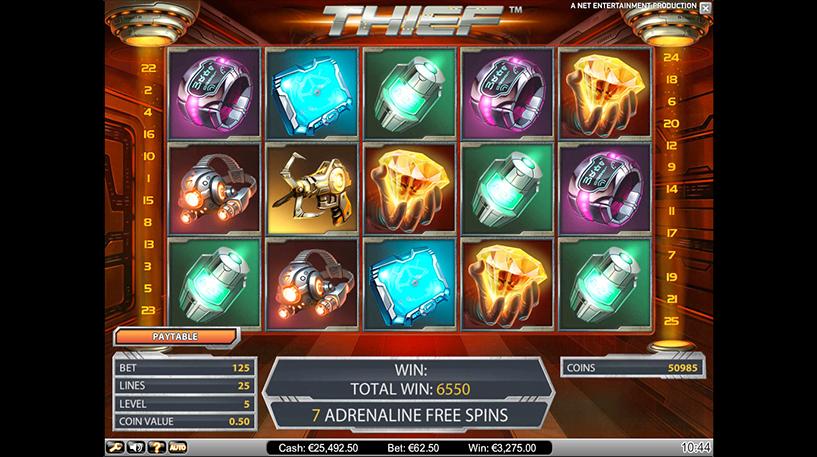 Thief Slot Screenshot 3