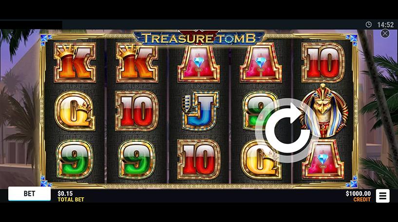 Treasure Tomb slot Screenshot 1