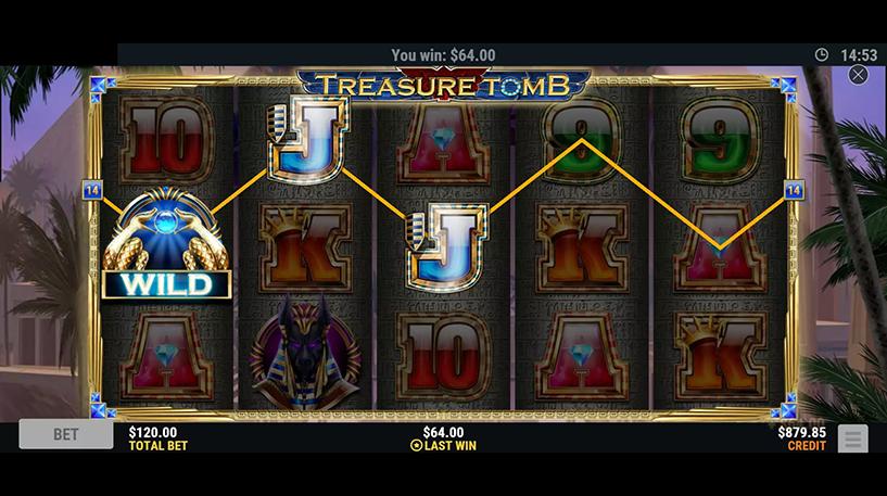 Treasure Tomb slot Screenshot 2