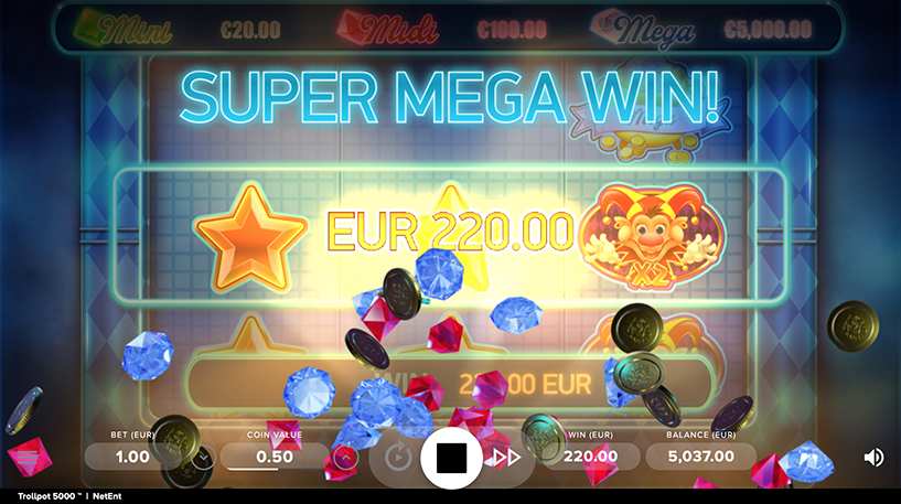 Trollpot 5000 Slot Screenshot 2