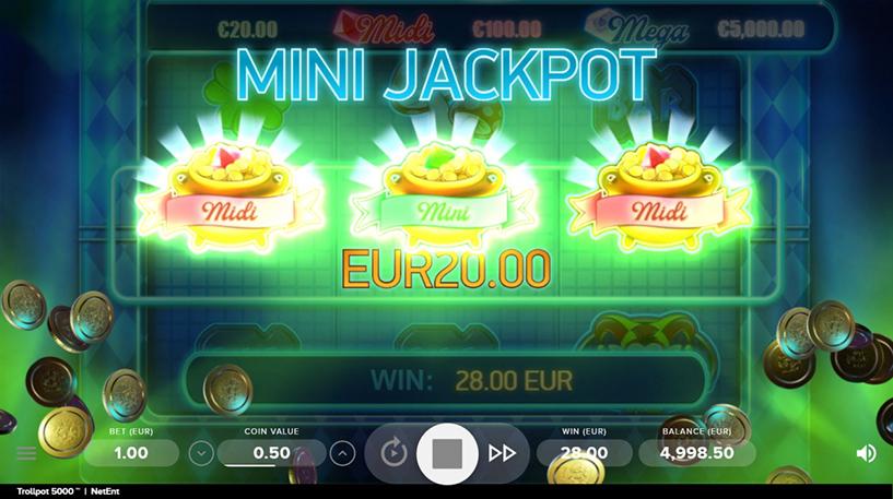 Trollpot 5000 Slot Screenshot 3