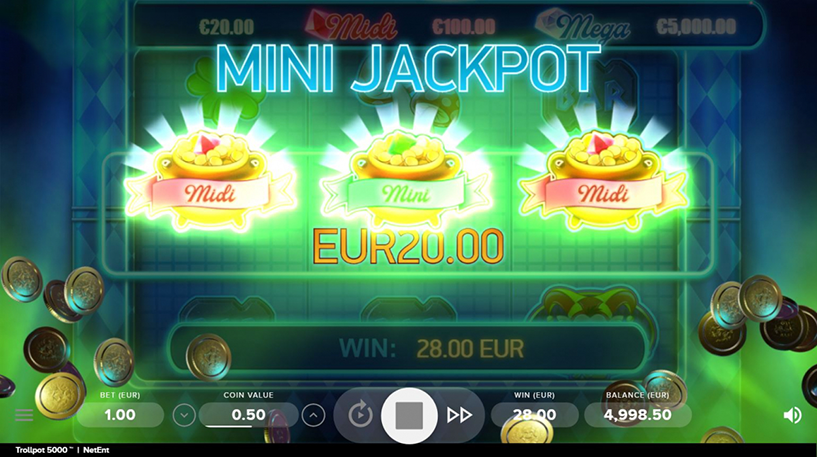 Trollpot 5000 Slot Screenshot 1