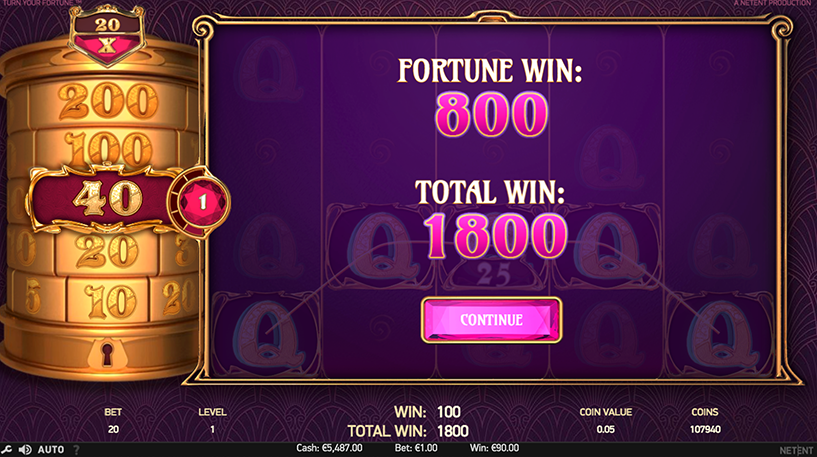 Turn your Fortune Slot Screenshot 1
