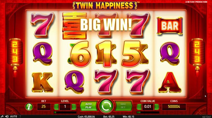 Twin Happiness Slot Screenshot 3