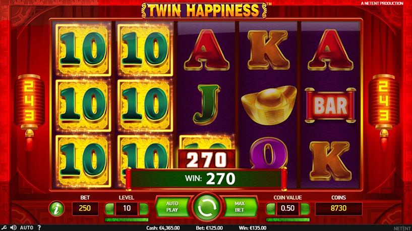 Twin Happiness Slot Screenshot 2