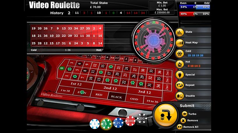 Video Roulette Screenshot 1