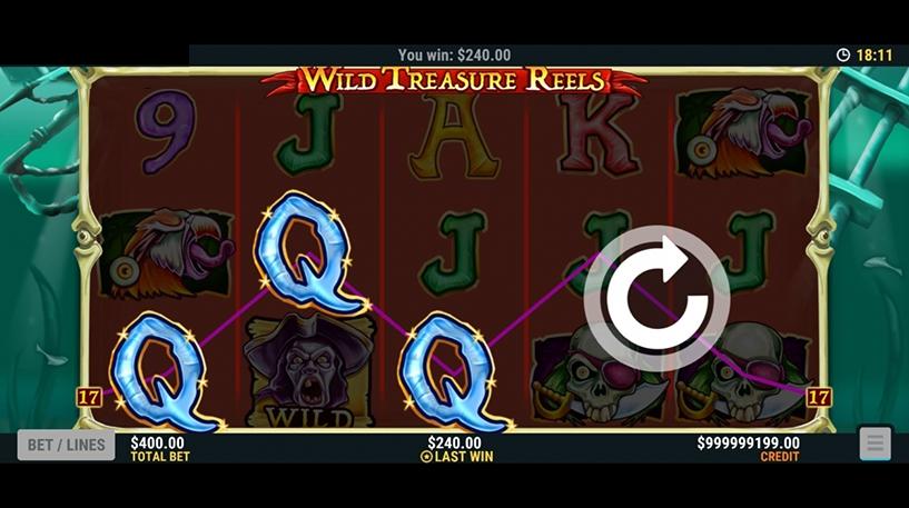 Wild Treasure Reels Slot Screenshot 3