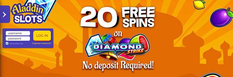 Aladdin Slots No Deposit Bonus
