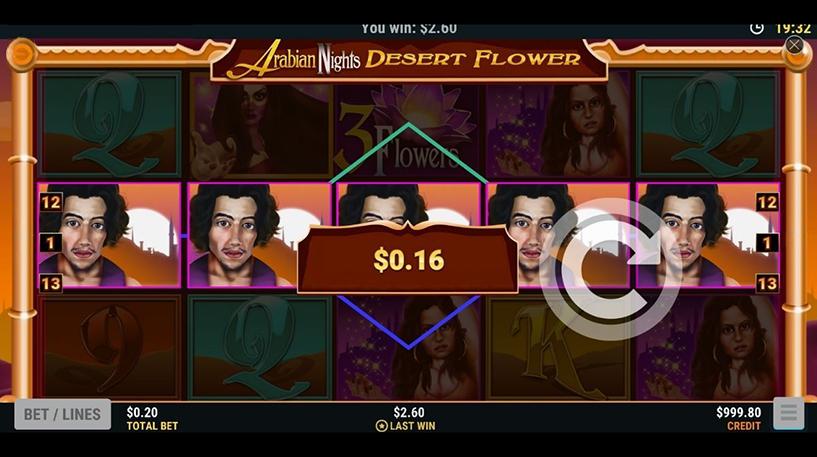 Arabian Nights Desert Flower Screenshot 3