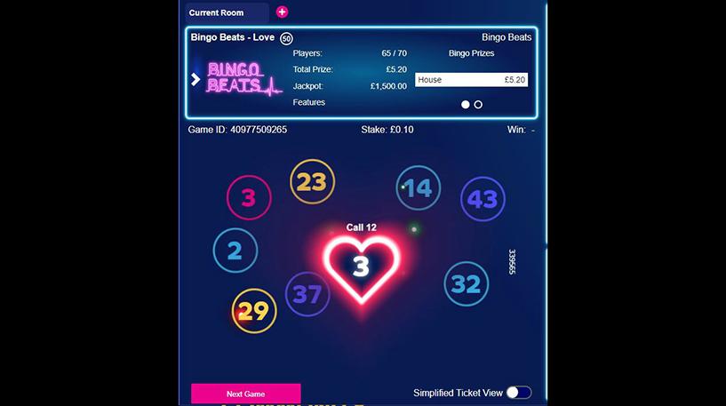 Bingo Beats Screenshot 1