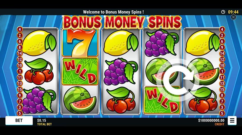 Bonus Money Spins Screenshot 1