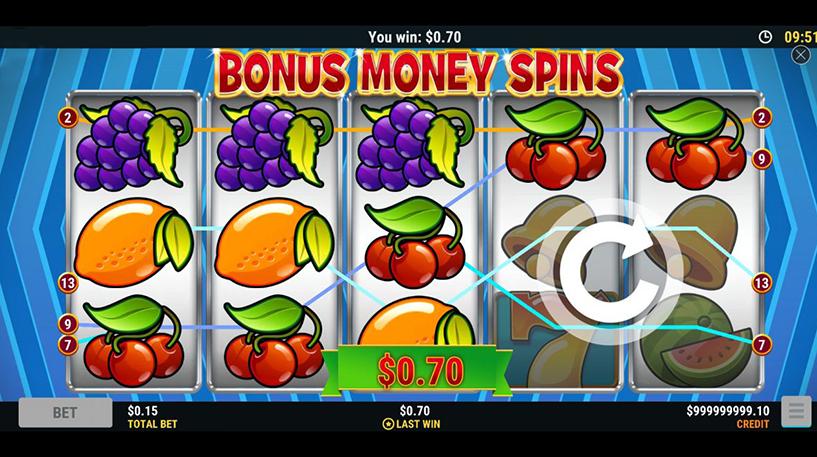 Bonus Money Spins Screenshot 3