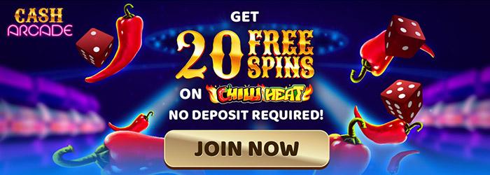 Cash Arcade No Deposit Casino Bonus