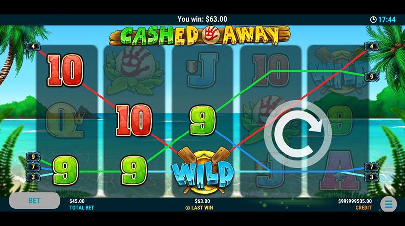 Cashed Away Slot Screenshot 2