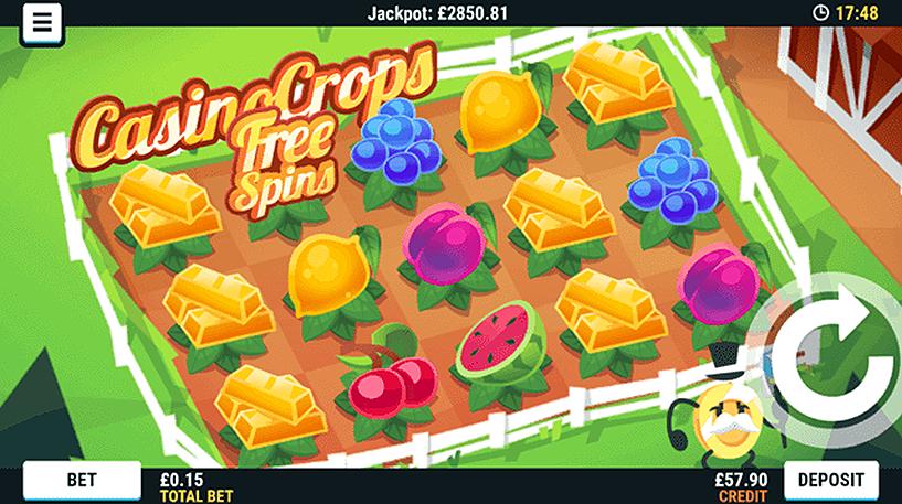 Casino Crops Slot Screenshot 2