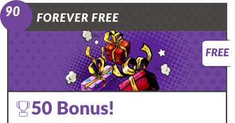 Forever Free Bingo