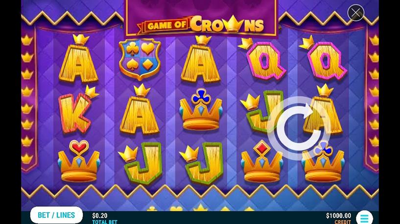 Game of Crowns Slot Screenshot 3