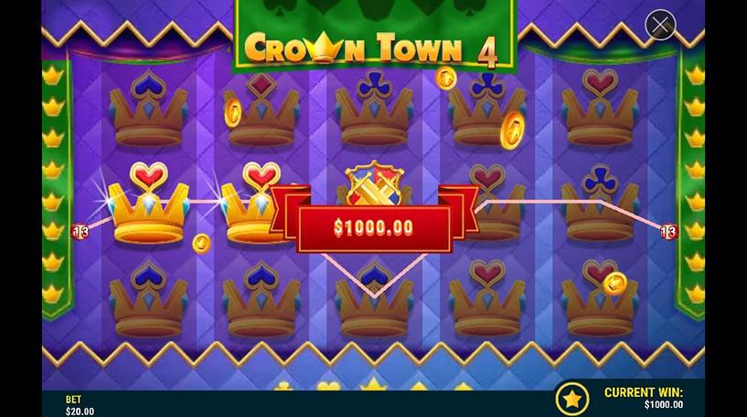 Game of Crowns Slot Screenshot 2