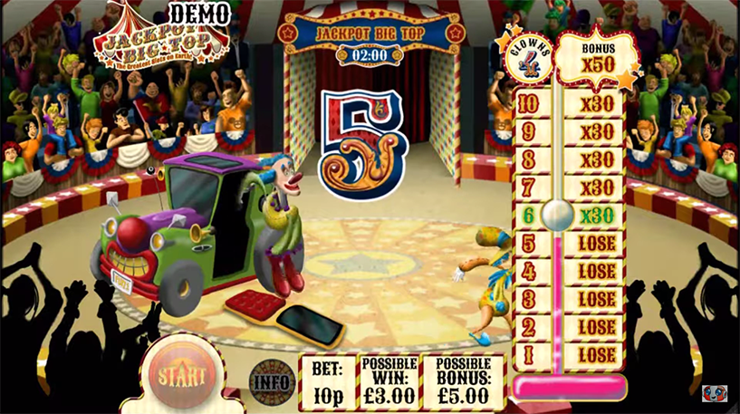 Jackpot Big Top Slot Screenshot 3