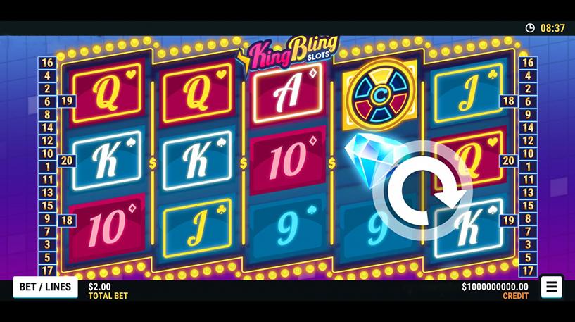 King Bling Slots Screenshot 1