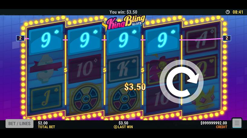 King Bling Slots Screenshot 2