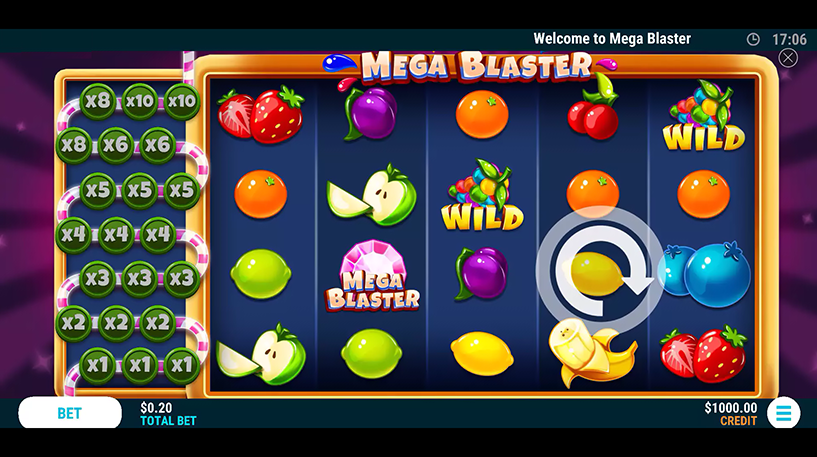 Mega Blaster Slot Screenshot 2