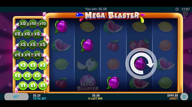 Mega Blaster Slot Screenshot 3