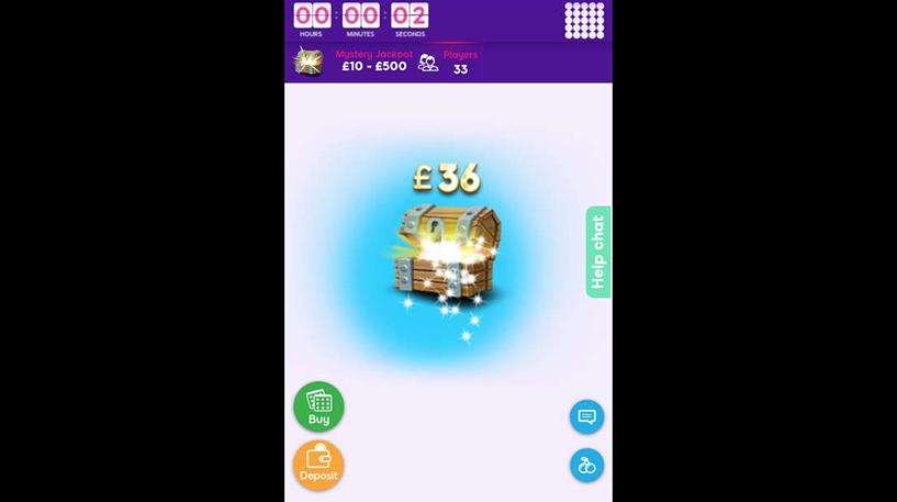 Mystery Jackpot Bingo Screenshot 1