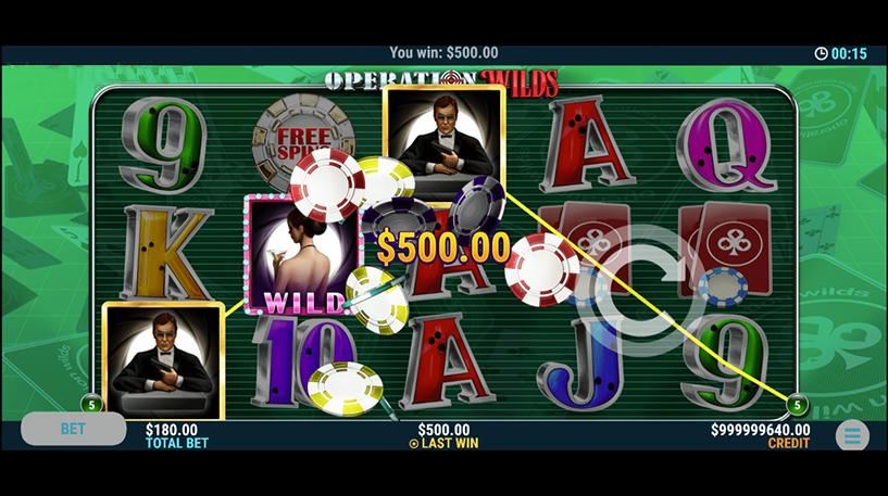 Operation Wilds Slot Screenshot 3