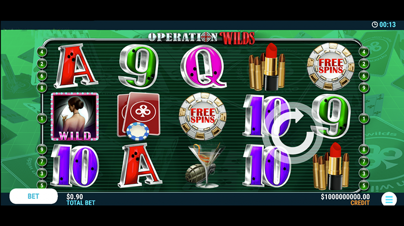 Operation Wilds Slot Screenshot 1