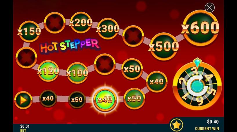 Red Hot Stepper Slot Screenshot 3
