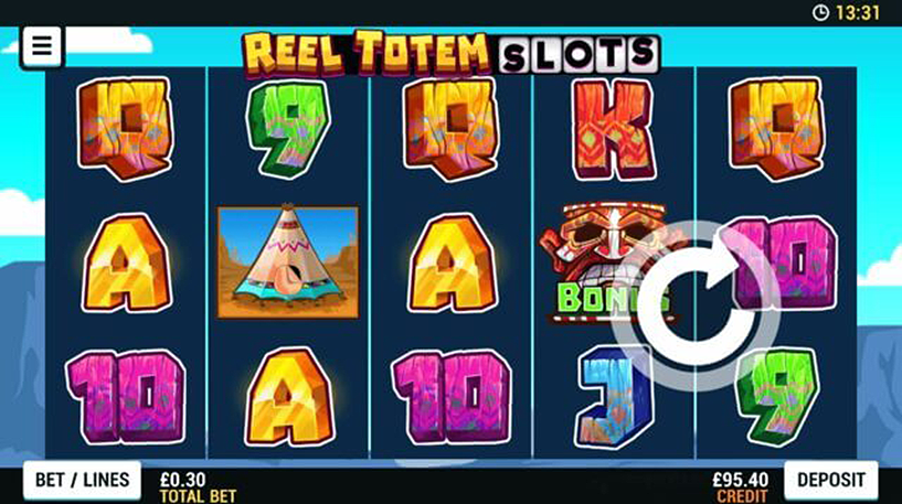 Reel Totem Slot Screenshot 2