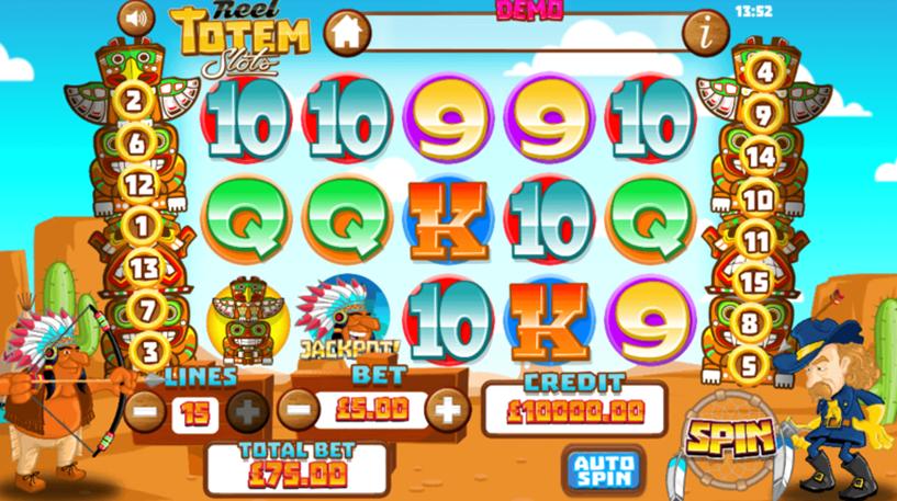 Reel Totem Slot Screenshot 1